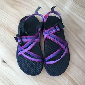 Chacos Purple & Pink Excellent Condition